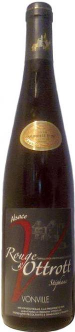 Rouge D´Ottrott 2008 Cuvée Stéphane, Weingut Jean-Charles Vonville
